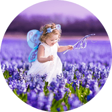 Beautiful Party With Fairies & Lillies